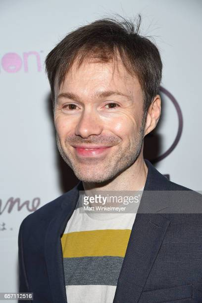 Actor Michael Sinterniklaas attends Funimation Films presents 'Your Name' Theatrical Premiere in Los Angeles CA at Yamashiro Hollywood on March 23...