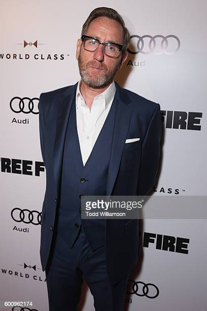 Actor Michael Smiley attends the 'Free Fire' premiere screening party hosted by Bulleit at Early Mercy on September 8 2016 in Toronto Canada