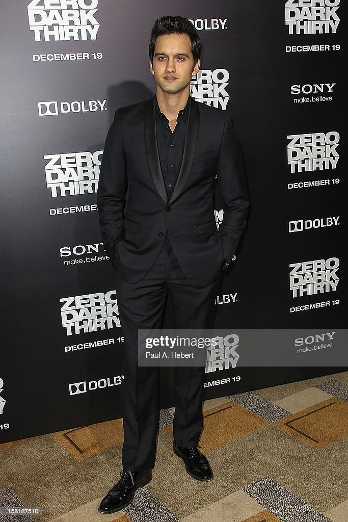 Actor Michael Steger arrives at the premiere of Columbia Pictures' 'Zero Dark Thirty' held at the Dolby Theatre on December 10, 2012 in Hollywood, California.