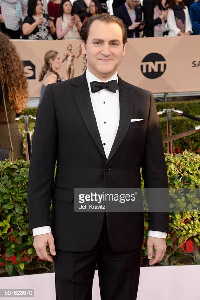 Actor Michael Stuhlbarg attends the 22nd Annual Screen Actors Guild Awards at The Shrine Auditorium on January 30 2016 in Los Angeles California