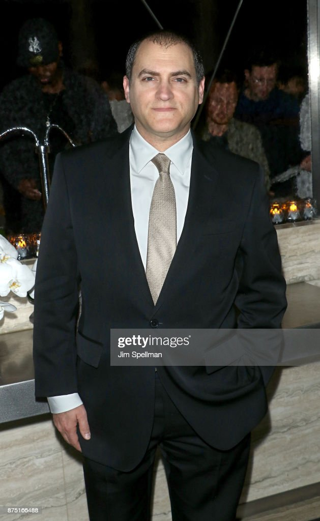 Actor Michael Stuhlbarg attends the after party for the screening of Sony Pictures Classics' 'Call Me By Your Name' hosted by Calvin Klein and The Cinema Society at Bar SixtyFive on November 16, 2017 in New York City.