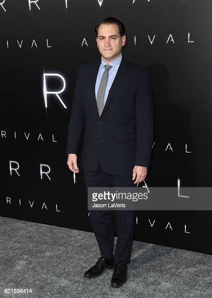 Actor Michael Stuhlbarg attends the premiere of Paramount Pictures' 'Arrival' at Regency Village Theatre on November 6 2016 in Westwood California