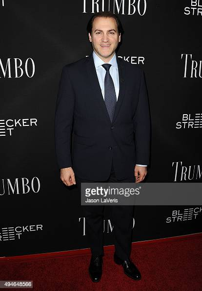 Actor Michael Stuhlbarg attends the premiere of 'Trumbo' at Samuel Goldwyn Theater on October 27 2015 in Beverly Hills California