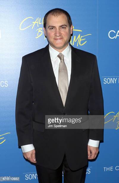 Actor Michael Stuhlbarg attends the screening of Sony Pictures Classics' 'Call Me By Your Name' hosted by Calvin Klein and The Cinema Society at...