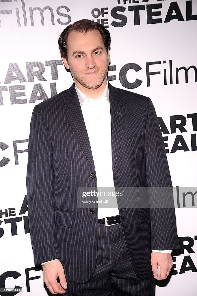 Actor Michael Stuhlbarg attends the 'The Art of The Steal' New York premiere at MOMA on February 9 2010 in New York City