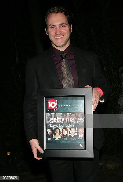 Actor Michael Stuhlbarg attends 'Variety's 10 Actors To Watch' event at The Roosevelt Hotel on October 30 2009 in Hollywood California