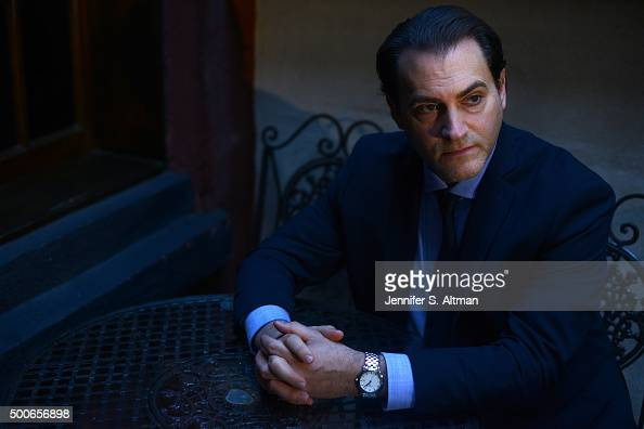 Actor Michael Stuhlbarg is photographed for Los Angeles Times on October 8 2015 in New York City