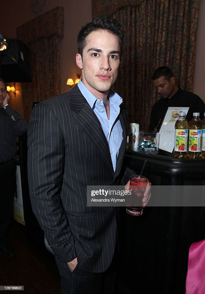 Actor <a gi-track='captionPersonalityLinkClicked' href=/galleries/search?phrase=Michael+Trevino&family=editorial&specificpeople=4069456 ng-click='$event.stopPropagation()'>Michael Trevino</a> backstage during the 12th annual Young Hollywood Awards sponsored by JC Penney , Mark. & Lipton Sparkling Green Tea held at the Ebell of Los Angeles on May 13, 2010 in Los Angeles, California.