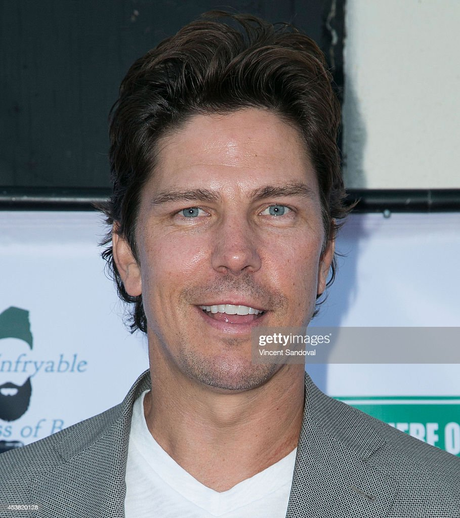 Actor <a gi-track='captionPersonalityLinkClicked' href=/galleries/search?phrase=Michael+Trucco&family=editorial&specificpeople=4069549 ng-click='$event.stopPropagation()'>Michael Trucco</a> attends the premiere of 'Fried Meat 3: The Unfryable Meatness of Being' at Pacific Resident Theatre on August 18, 2014 in Venice, California.