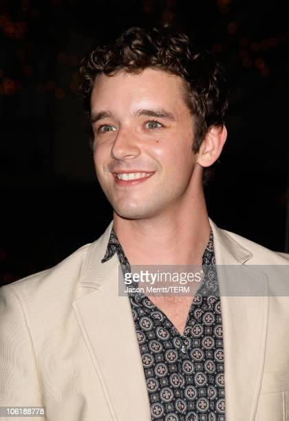 Actor Michael Urie arrives at a special screening of DreamWorks Pictures' 'Sweeney Todd' at the Paramount Theater on December 5 2007 in Los Angeles...