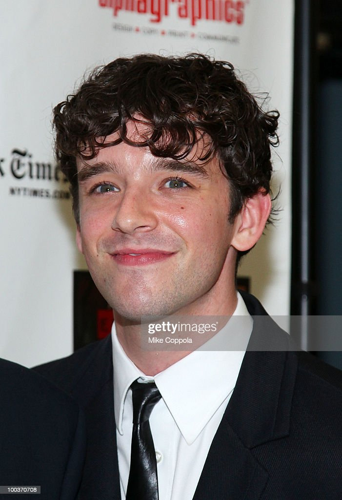 Actor Michael Urie arrives at the press room for the 55th Annual Drama Desk Awards at the FH LaGuardia Concert Hall at Lincoln Center on May 23, 2010 in New York City.