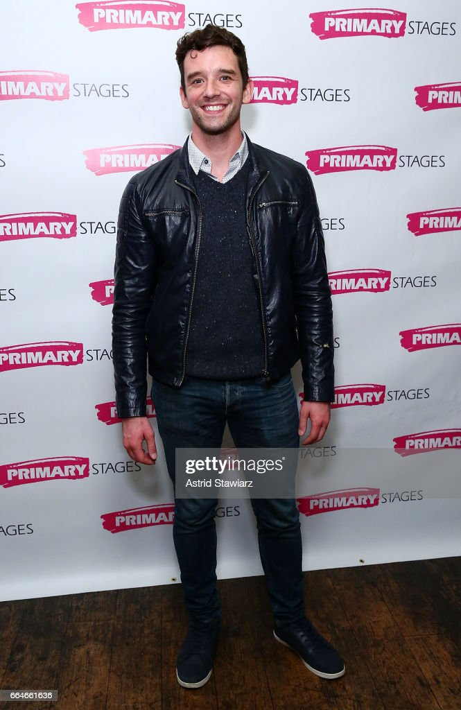 Actor Michael Urie attends 'Daniel's Husband' opening night party at Sushi Samba on April 4, 2017 in New York City.