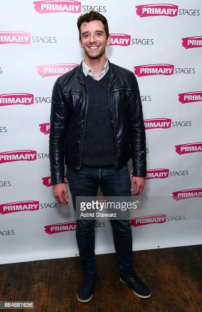 Actor Michael Urie attends 'Daniel's Husband' opening night party at Sushi Samba on April 4 2017 in New York City