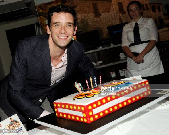 Actor Michael Urie attends his portrait unveiling and birthday party at Tony's di Napoli on August 7 2013 in New York City