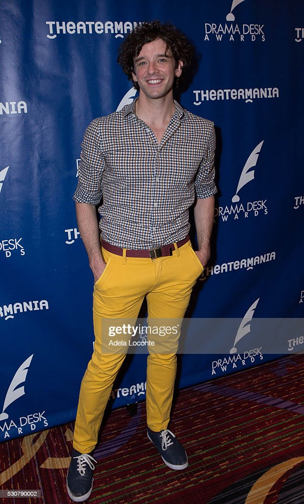 Actor Michael Urie attends the 2016 Drama Desk Awards Nominees ReceptionThe New York Marriott Marquis on May 11, 2016 in New York City.
