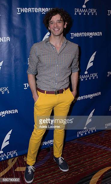 Actor Michael Urie attends the 2016 Drama Desk Awards Nominees ReceptionThe New York Marriott Marquis on May 11 2016 in New York City
