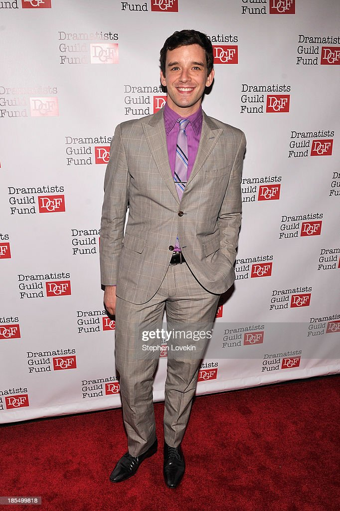 Actor <a gi-track='captionPersonalityLinkClicked' href=/galleries/search?phrase=Michael+Urie&family=editorial&specificpeople=883711 ng-click='$event.stopPropagation()'>Michael Urie</a> attends the Great Writers Thank Their Lucky Stars annual gala hosted by The Dramatists Guild Fund on October 21, 2013 in New York City.