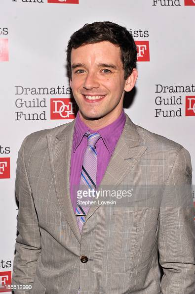Actor Michael Urie attends the Great Writers Thank Their Lucky Stars annual gala hosted by The Dramatists Guild Fund on October 21 2013 in New York...