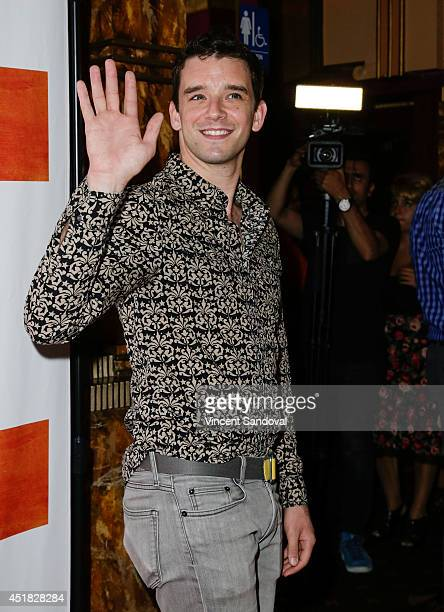 Actor Michael Urie attends the Los Angeles screening of 'Such Good People' at Majestic Crest Theatre on July 7 2014 in Los Angeles California
