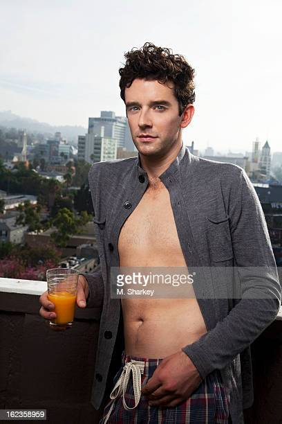 Actor Michael Urie is photographed for Out Magazine on October 6 2012 in West Hollywood California