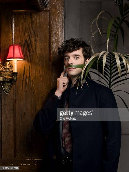 Actor Michael Urie is photographed for The Advocate on December 10 2009 in New York City