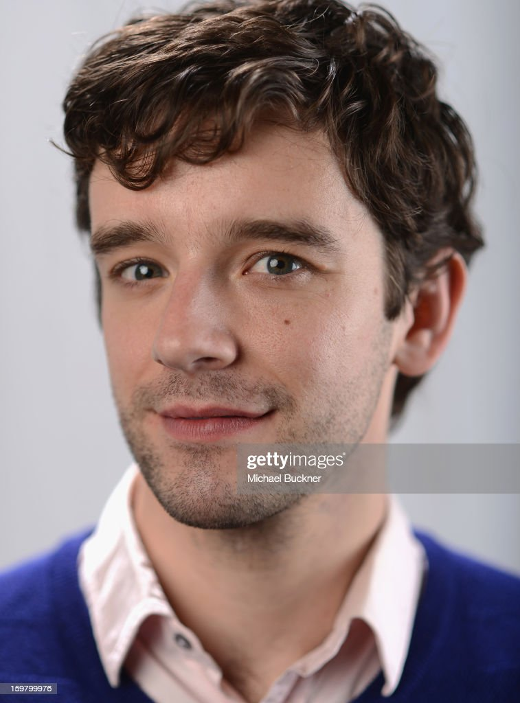 Actor Michael Urie poses for a portrait at the photo booth for MSN Wonderwall at ChefDance on January 20, 2013 in Park City, Utah.