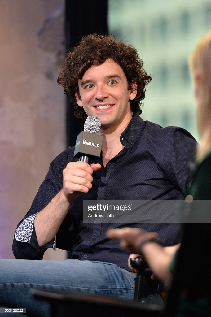 Actor <a gi-track='captionPersonalityLinkClicked' href=/galleries/search?phrase=Michael+Urie&family=editorial&specificpeople=883711 ng-click='$event.stopPropagation()'>Michael Urie</a> speaks during AOL Build Speaker Series <a gi-track='captionPersonalityLinkClicked' href=/galleries/search?phrase=Michael+Urie&family=editorial&specificpeople=883711 ng-click='$event.stopPropagation()'>Michael Urie</a> discusses hosting The 61st Drama Desk Awards at AOL Studios In New York on May 31, 2016 in New York City.
