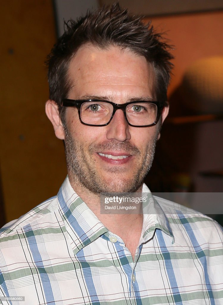 Actor <a gi-track='captionPersonalityLinkClicked' href=/galleries/search?phrase=Michael+Vartan&family=editorial&specificpeople=226571 ng-click='$event.stopPropagation()'>Michael Vartan</a> attends a cocktail party and book signing for 'A Letter to My Dog: Notes to Our Best Friends' at Anthropologie on April 4, 2013 in Beverly Hills, California.