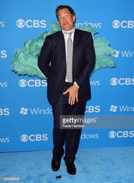 Actor Michael Weatherly arrives at CBS 2012 fall premiere party held at Greystone Manor Supperclub on September 18 2012 in West Hollywood California