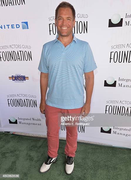 Actor Michael Weatherly attends the Screen Actor's Guild Foundation's 5th Annual 'Actors Fore Actors' Los Angeles Golf Classic at Lakeside Golf Club...