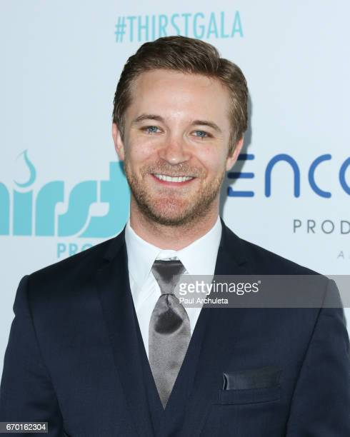 Actor Michael Welch attends the 8th annual Thirst Gala at The Beverly Hilton Hotel on April 18 2017 in Beverly Hills California