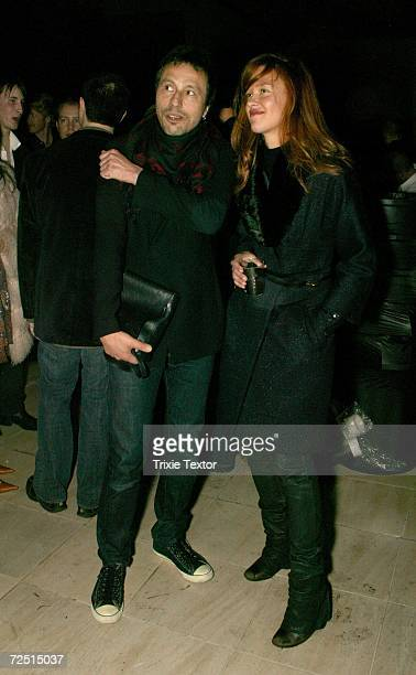 Actor Michael Wincott and actress Paz De La Huerta attend the Edie Speaks 'Edie Girl On Fire' book party held at the Armand Hammer Museum on November...