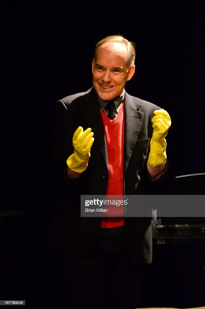 Actor Michael Winther performs during the 24 Hour Musicals 2013 at the Gramercy Theatre on April 29, 2013 in New York City.