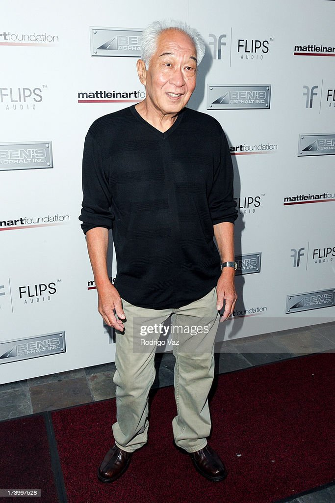 Actor Michael Yama arrives at the Matt Leinart Foundation's 7th Annual 'Celebrity Bowl' at Lucky Strikes on July 18, 2013 in Hollywood, California.