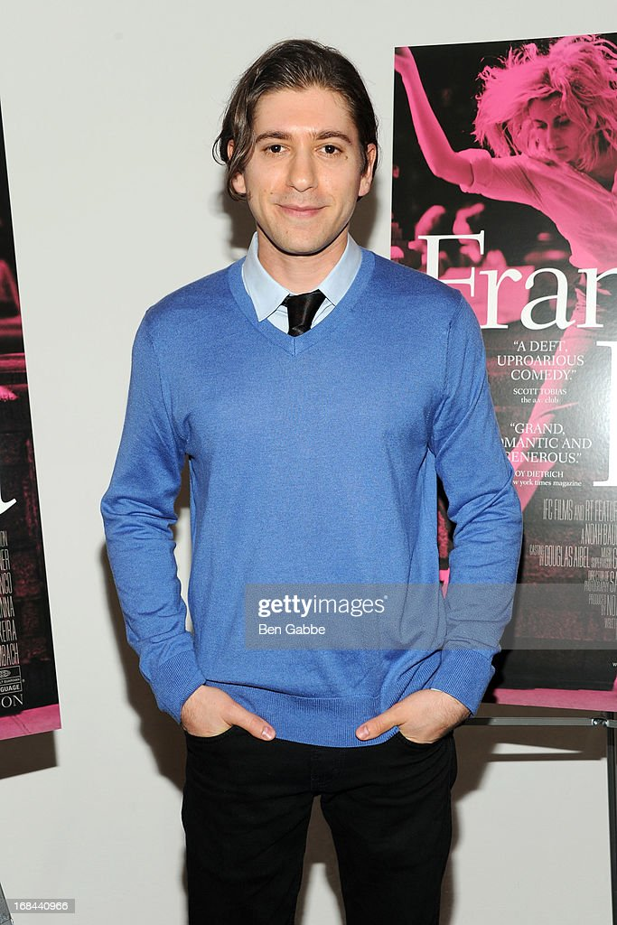 Actor Michael Zegen attends 'Frances Ha' New York Premiere at MOMA on May 9, 2013 in New York City.
