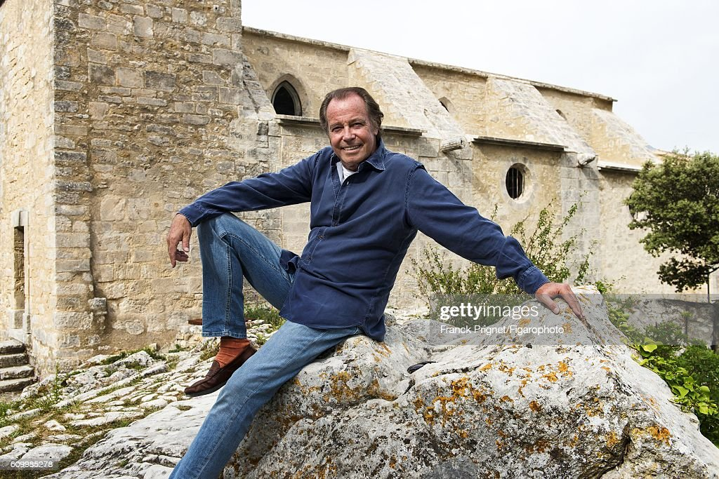 Actor Michel Leeb is photographed for Le Figaro Magazine on June 15, 2016 in the renovated church of Oppede le Vieux in Oppede, France.
