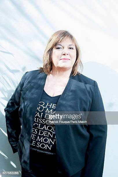 Actor Michele Bernier is photographed for Paris Match on April 8 2016 in Paris France