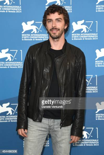 Actor Michele Riondino attends 'Il Giovane Favoloso' Photocall during the 71st Venice Film Festival at Palazzo Del Casino on September 1 2014 in...