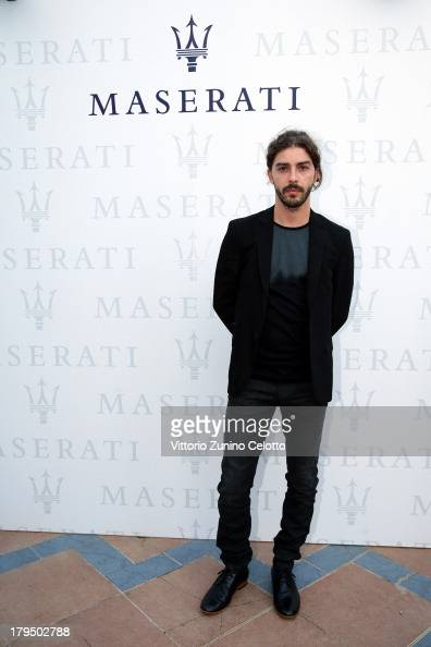 Actor Michele Riondino attends the 70th Venice International Film Festival at Terrazza Maserati on September 4 2013 in Venice Italy