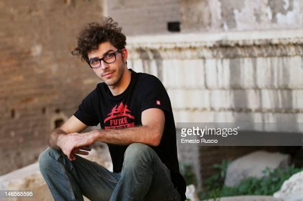 Actor Michele Riondino poses during the Letterature 2012 Festival Internazionale di Roma at Basilica di Massenzio on June 19 2012 in Rome Italy