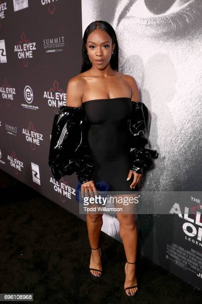 Actor Michelle Mitchenor at the 'ALL EYEZ ON ME' Premiere at Westwood Village Theatre on June 14 2017 in Westwood California