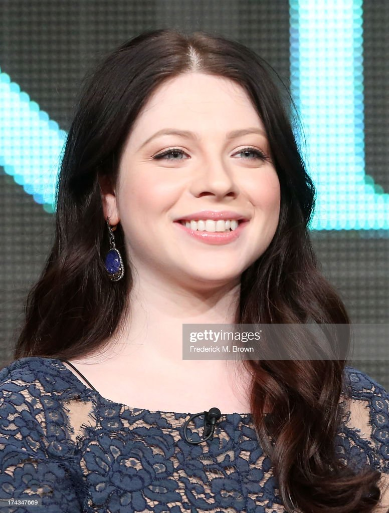 Actor Michelle Trachtenberg speaks onstage during the Killing Kennedy panel at the National Geographic Channels portion of the 2013 Summer Television Critics Association tour at the Beverly Hilton Hotel on July 24, 2013 in Beverly Hills, California.