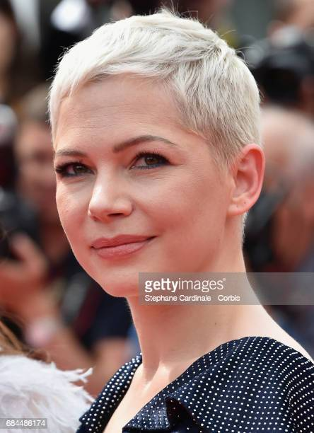 Actor Michelle Williams attends the 'Wonderstruck' screening during the 70th annual Cannes Film Festival at Palais des Festivals on May 18 2017 in...