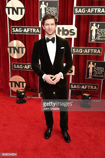 Actor Michiel Huisman attends The 23rd Annual Screen Actors Guild Awards at The Shrine Auditorium on January 29 2017 in Los Angeles California