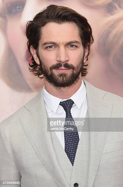Actor Michiel Huisman attends 'The Age of Adaline' premiere at AMC Loews Lincoln Square 13 theater on April 19 2015 in New York City