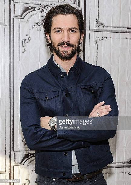 Actor Michiel Huisman attends the AOL Build Speakers Series Michiel Huisman at AOL Studios In New York on April 21 2015 in New York City