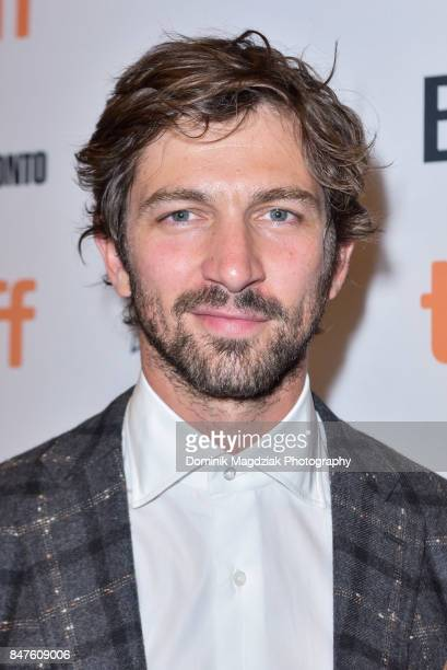 Actor Michiel Huisman attends the 'Indian Horse' premiere during the 2017 Toronto International Film Festival at TIFF Bell Lightbox on September 15...