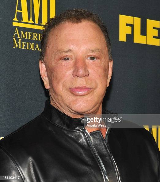 Mickey Rourke Actor St...