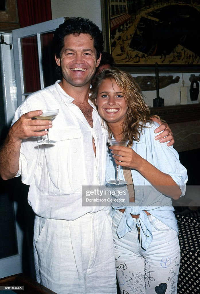 Actor Micky Dolenz And His Daughter Ami Dolenz Lift A Glass In Good Spirits  As They