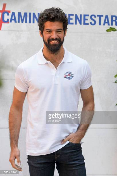 Actor Miguel Angel Munoz attends the '#caminoalbienestar' photocall at Lazaro Galdiano museum on June 5 2017 in Madrid Spain